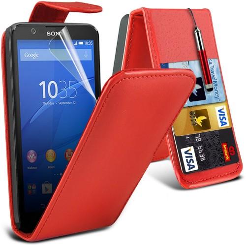 Flip Θήκη Sony Xperia E4 (001-005-445) - OEM