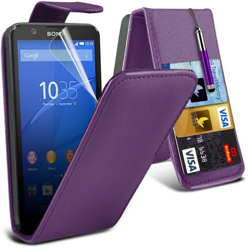 Flip Θήκη Sony Xperia E4 (001-005-442) - OEM
