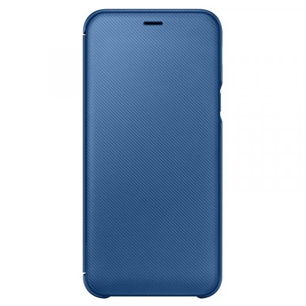 Official Flip Wallet - Θήκη Samsung Galaxy A6 2018 - Blue (EF-WA600CLEGWW)
