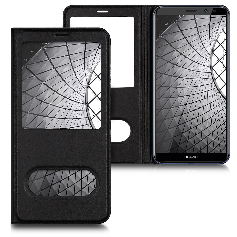 KW View-Flip Θήκη Huawei Mate 10 Lite - Black (43771.01)