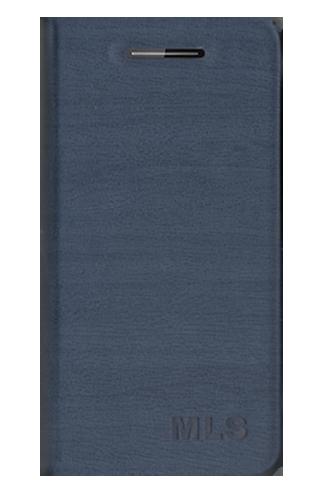 Flip Θήκη MLS F5 + Protective Film - Blue (11.CC.520.208)