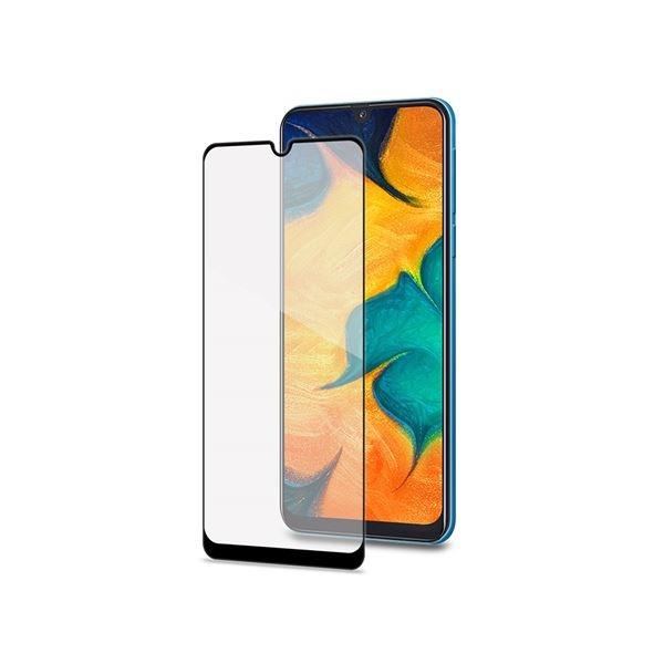 Celly Tempered Glass- Fullface Αντιχαρακτικό Γυαλί Οθόνης Samsung Galaxy A30 / A50 (FULLGLASS840BK)