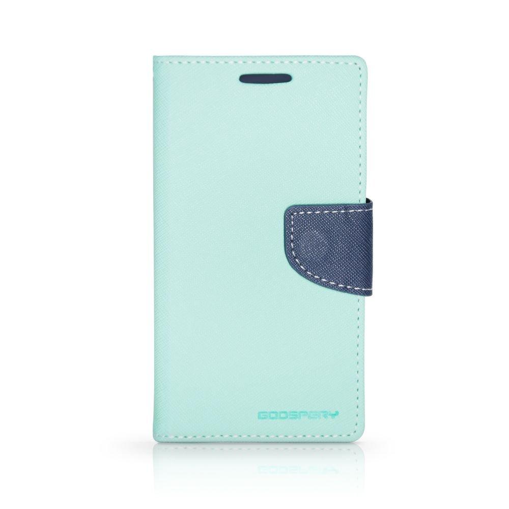 Θήκη Samsung Galaxy S6 Edge Plus - Πορτοφόλι Γαλάζιο by Mercury (001-002-063)