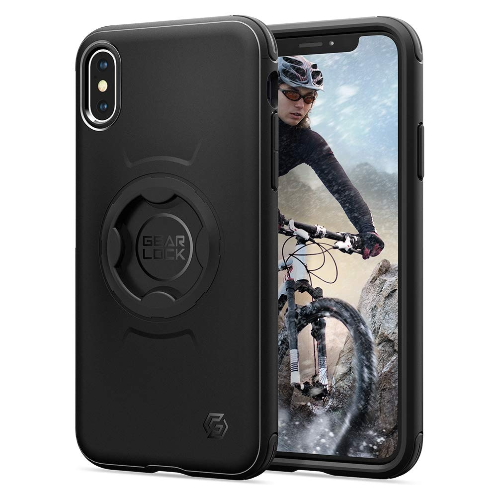 Spigen Gearlock Bike Mount Case CF101 - Θήκη iPhone XS / X Συμβατή με Βάσεις Bike Mount (057CS25058)