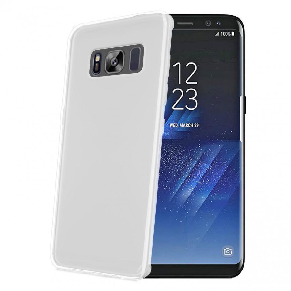 Celly Διάφανη Θήκη Σιλικόνης Samsung Galaxy S8 - Transparent (GELSKIN690)