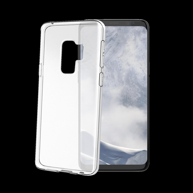 Celly Διάφανη Θήκη Σιλικόνης Galaxy S9 Plus - Transparent (GELSKIN791)