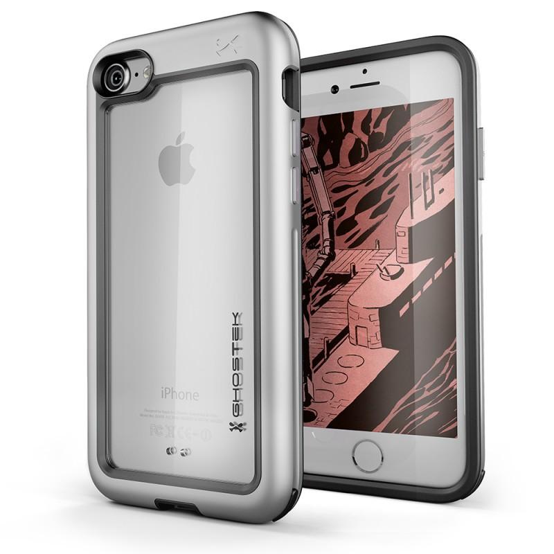 Ghostek Atomic Slim Θήκη iPhone 8 / 7 - Silver (CA-GHOCAS663-00)