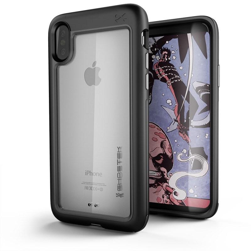 Ghostek Atomic Slim Θήκη iPhone X / XS - Black (CA-GHOCAS656-00)