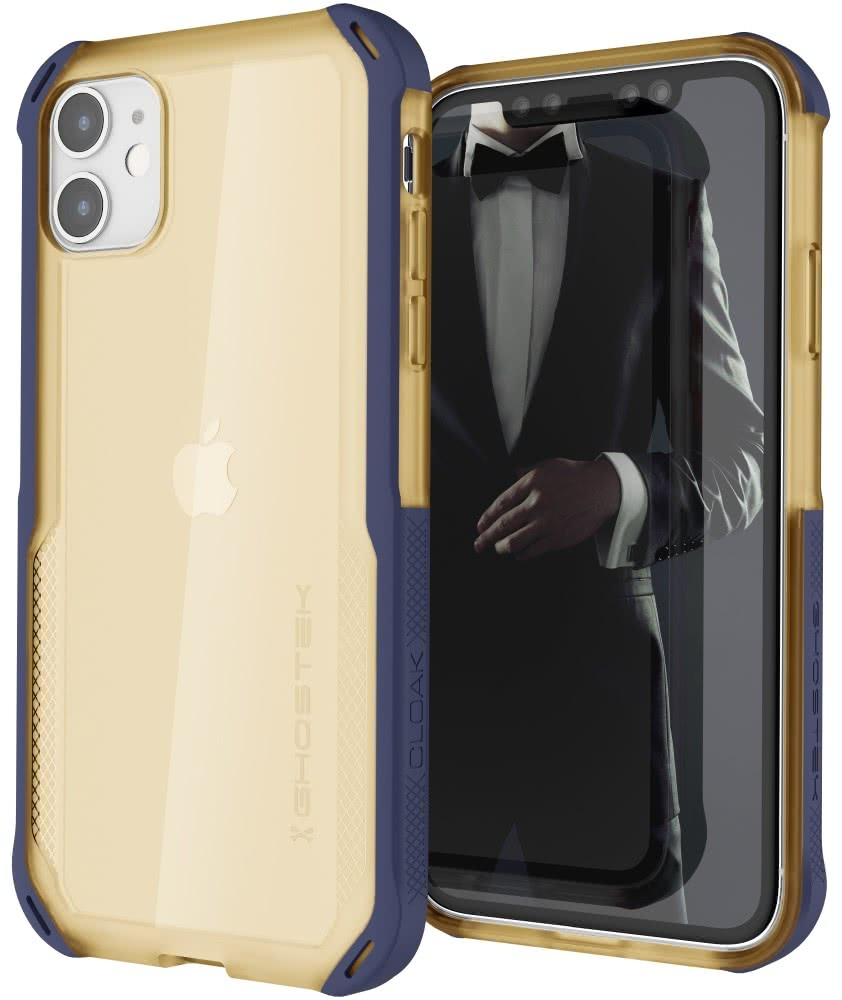 Ghostek Cloak 4 Series Θήκη iPhone 11 - Blue / Gold (GHOCAS2247)