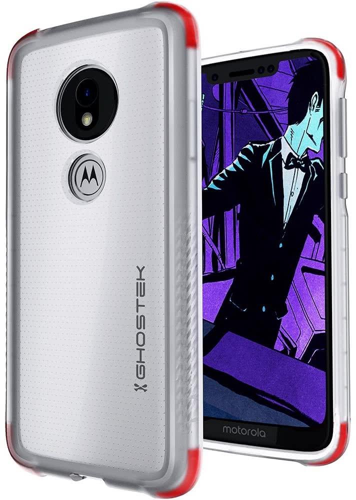 Ghostek Covert 3 Ανθεκτική Θήκη Motorola Moto G7 Play - Clear (GHOCAS2141)