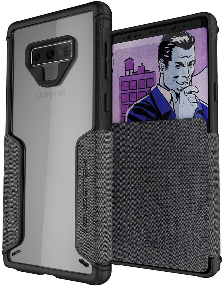 Ghostek Exec 3 - Θήκη Πορτοφόλι Samsung Galaxy Note 9 - Storm Gray (GHOCAS997)