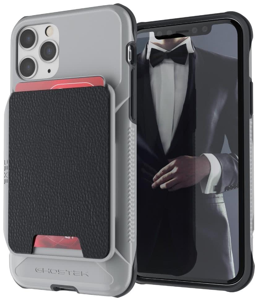Ghostek Exec 4 - Θήκη Πορτοφόλι iPhone 11 Pro - Grey (GHOCAS2277)