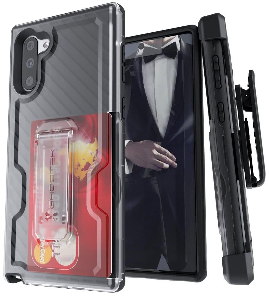 Ghostek Iron Armor 3 - Ανθεκτική Θήκη Samsung Galaxy Note 10 - Black (GHOCAS2300)