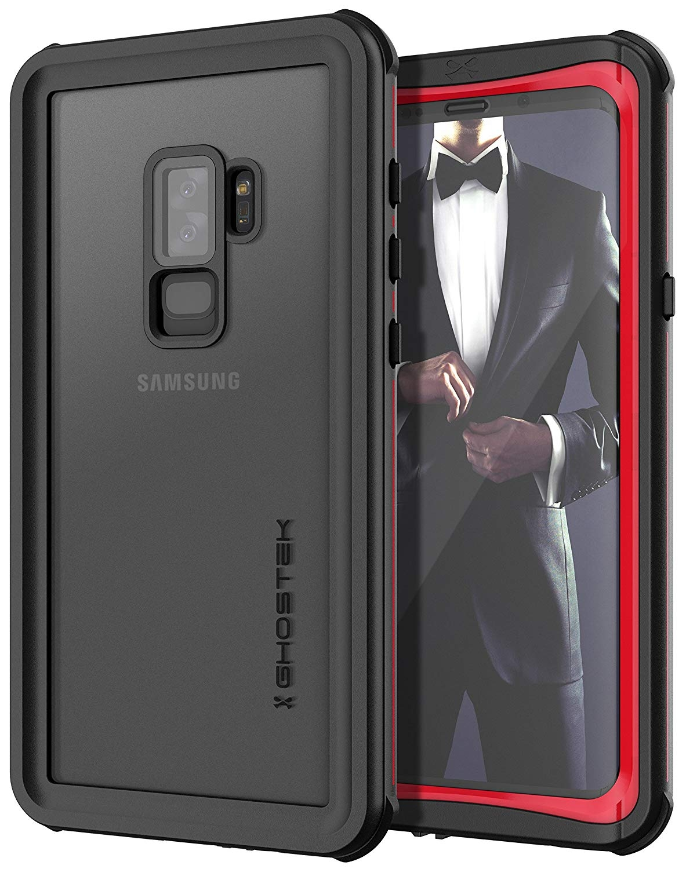 Ghostek Nautical 2 Αδιάβροχη Θήκη Samsung Galaxy S9 Plus - Red (CA-GHOCAS960-00)