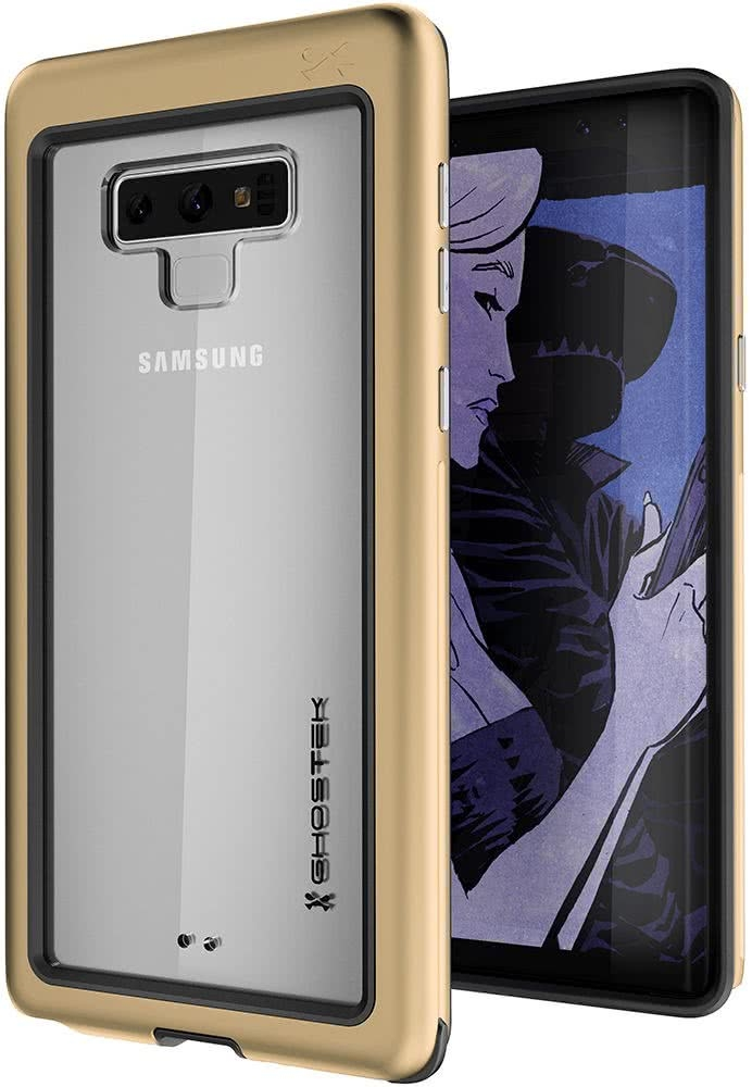 Ghostek Atomic Slim Θήκη Samsung Galaxy Note 9 - Gold (GHOCAS1004)