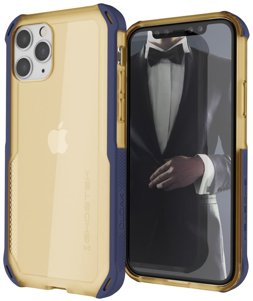 Ghostek Cloak 4 Series Θήκη iPhone 11 Pro - Blue / Gold (GHOCAS2243)