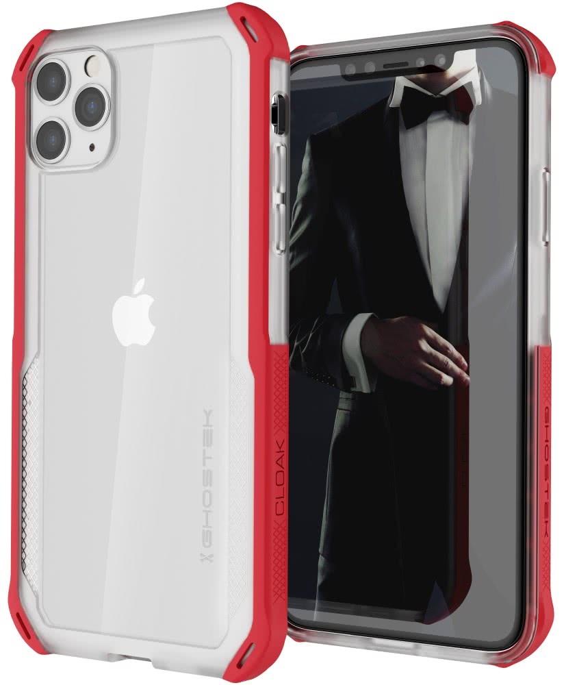 Ghostek Cloak 4 Series Θήκη iPhone 11 Pro Max - Red (GHOCAS2250)