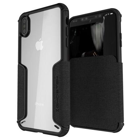 Ghostek Exec 3 - Θήκη Πορτοφόλι iPhone XS Max - Deep Black (GHOCAS1070)