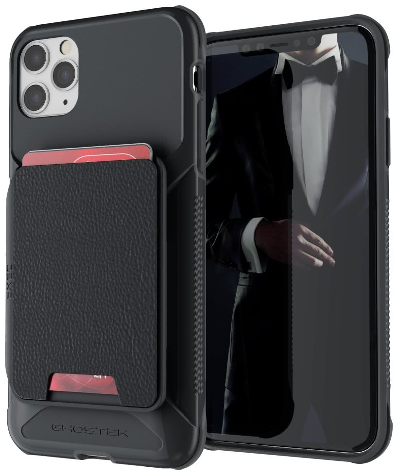 Ghostek Exec 4 - Θήκη Πορτοφόλι iPhone 11 Pro Max - Black (GHOCAS2282)