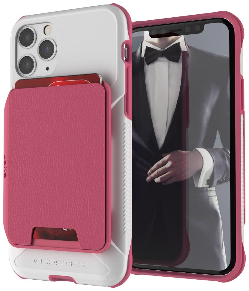 Ghostek Exec 4 - Θήκη Πορτοφόλι iPhone 11 Pro - Pink / White (GHOCAS2278)