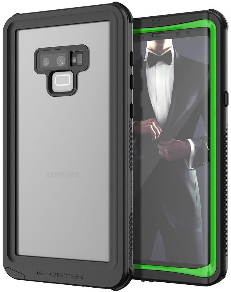 Ghostek Nautical 2 Αδιάβροχη Θήκη Samsung Galaxy Note 9 - Neon Green (GHOCAS995)