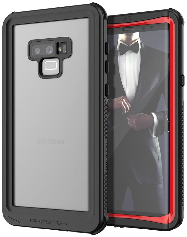 Ghostek Nautical 2 Αδιάβροχη Θήκη Samsung Galaxy Note 9 - Red (GHOCAS993)