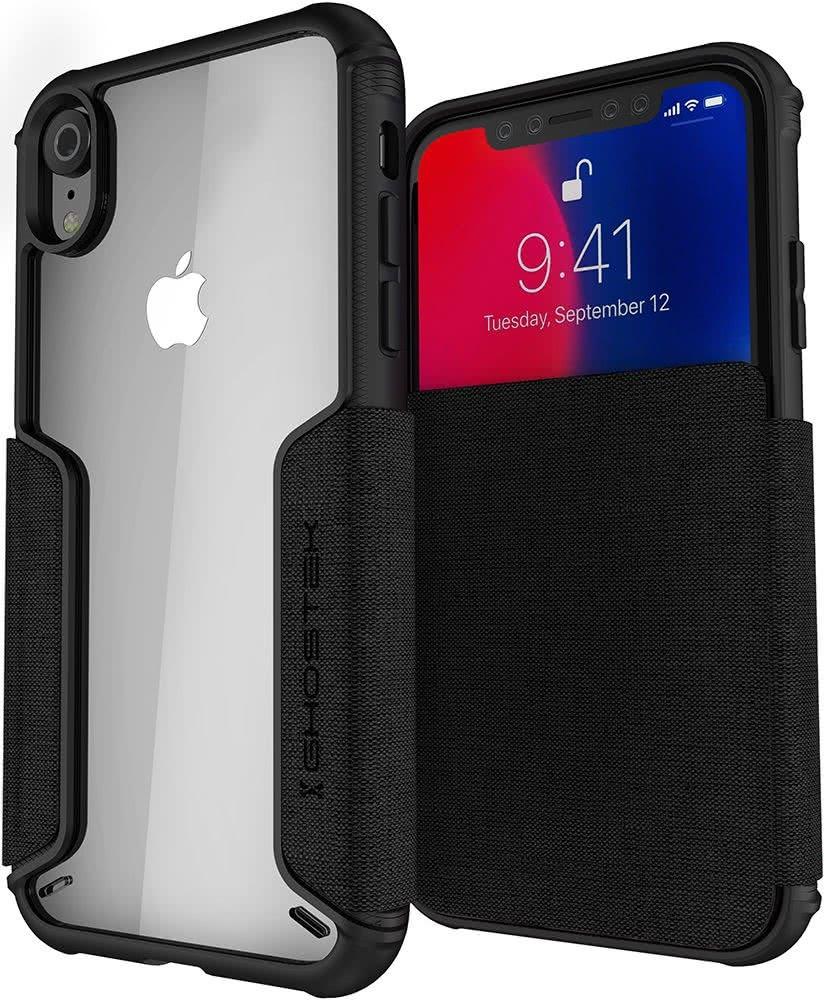 Ghostek Exec 3 - Θήκη Πορτοφόλι iPhone XR - Deep Black (GHOCAS1067)