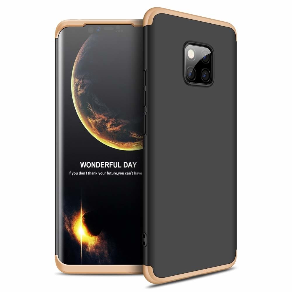 GKK Θήκη Hybrid Full Body 360° Huawei Mate 20 Pro - Black Gold (44470)