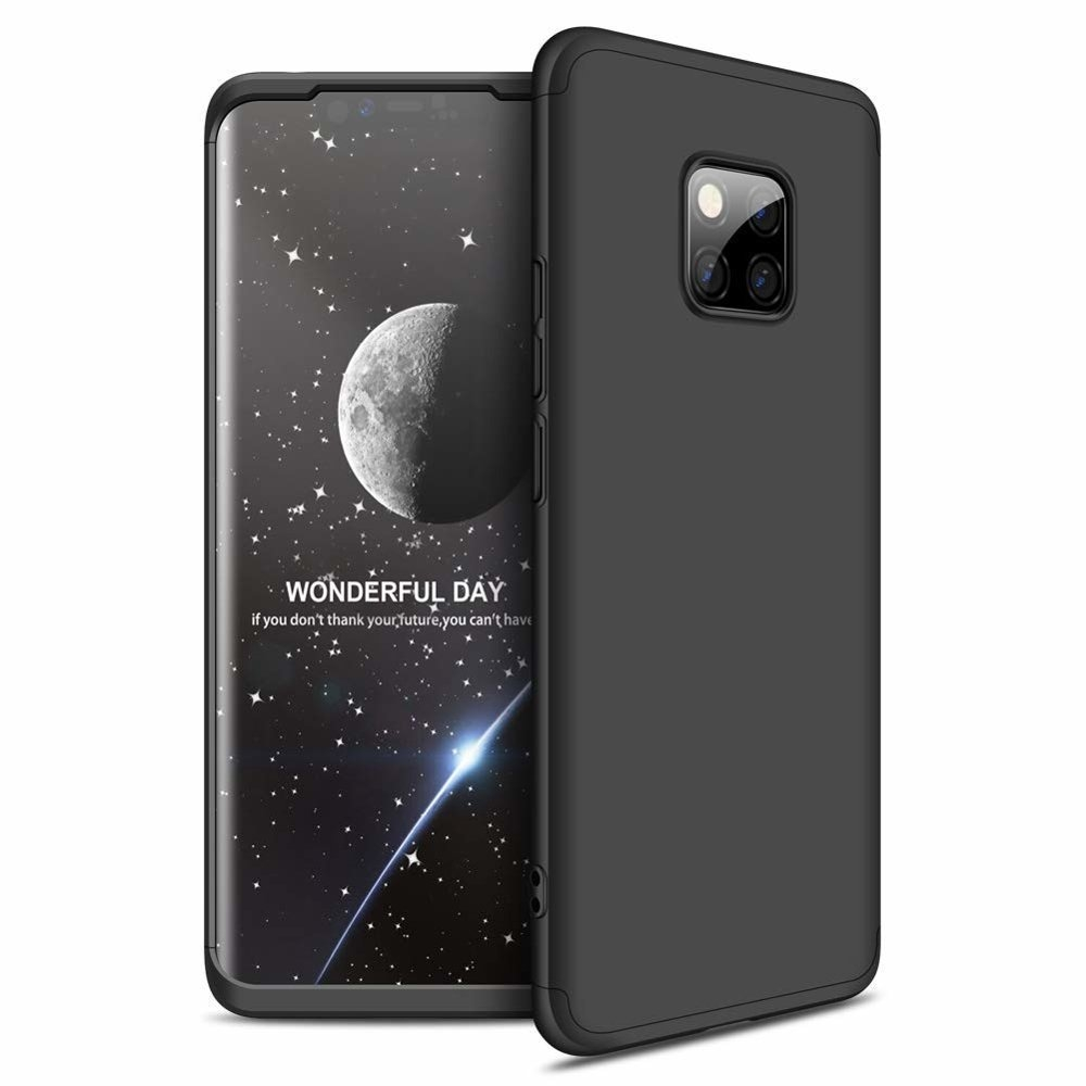 GKK Θήκη Hybrid Full Body 360° Huawei Mate 20 Pro - Black (44471)