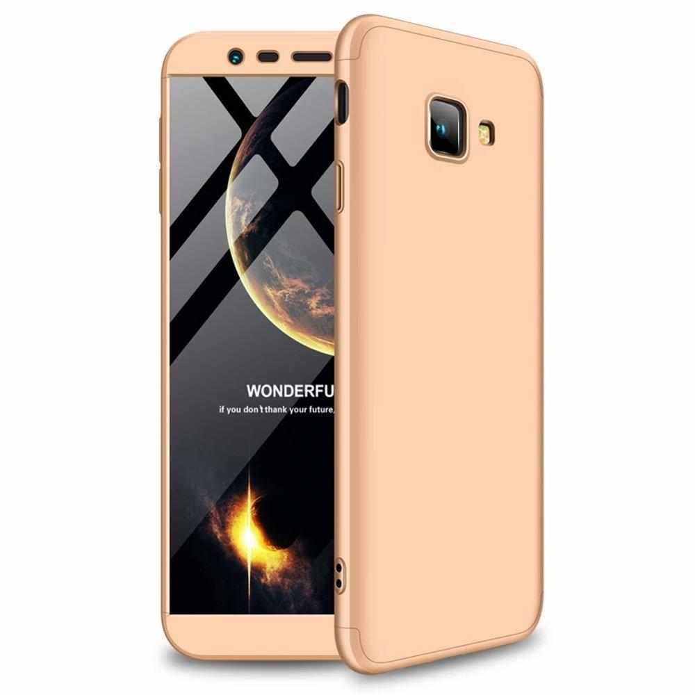 GKK Θήκη Hybrid Full Body 360° Samsung Galaxy J4 Plus 2018 - Gold (44491)