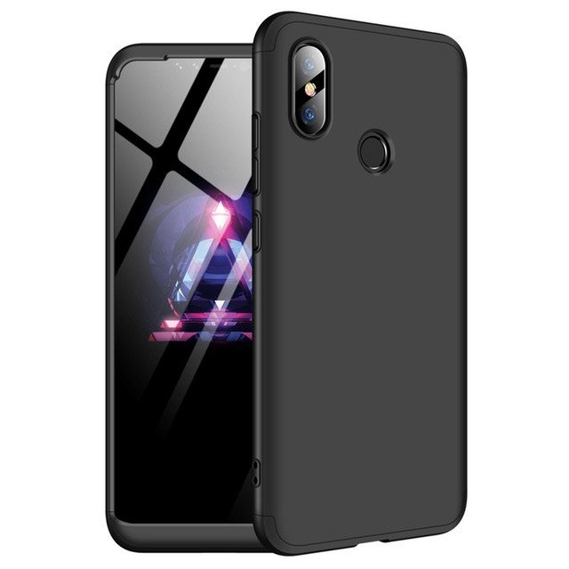 GKK Θήκη Hybrid Full Body 360° Xiaomi Mi 8 - Black (14986)