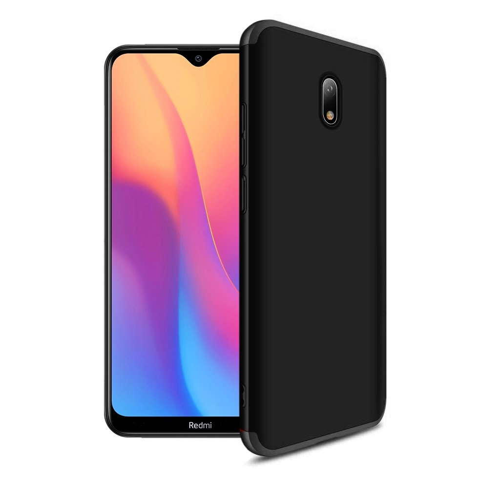 GKK Θήκη Hybrid Full Body 360° Xiaomi Redmi 8A - Black (62685)