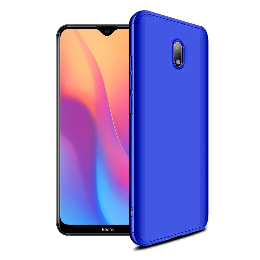 GKK Θήκη Hybrid Full Body 360° Xiaomi Redmi 8A - Blue (62683)