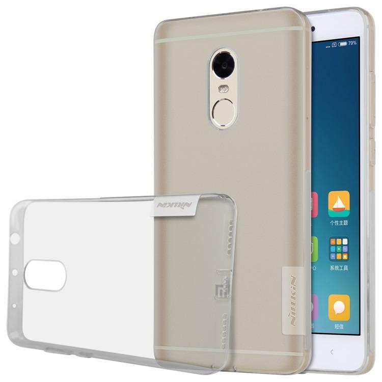 Nillkin Nature Ημιδιάφανη Θήκη Σιλικόνης Xiaomi Redmi Note 4 - Grey (139196)