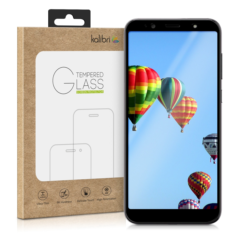 Kalibri Tempered Glass - Fullface Αντιχαρακτικό τζαμάκι HTC U12 Life - Black Frame (46334.01)
