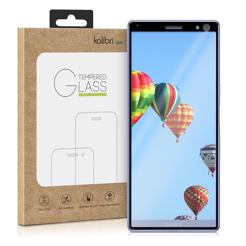 kalibri Tempered Glass Screen Protector - Sony Xperia 10 - Black Frame (47995.1)