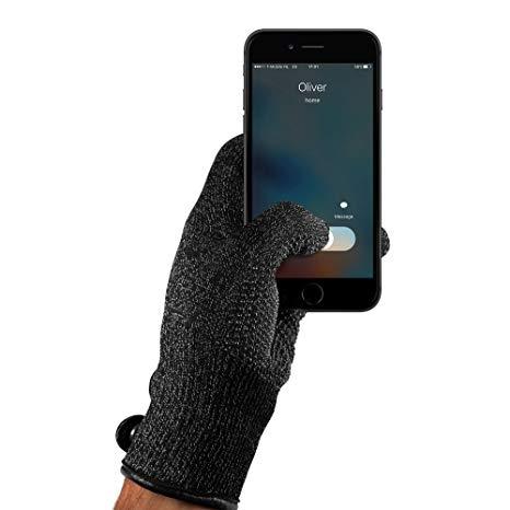 MUJJO Single Layered Touchscreen Gloves - Γάντια για Οθόνη Αφής - Black (L) (14494)