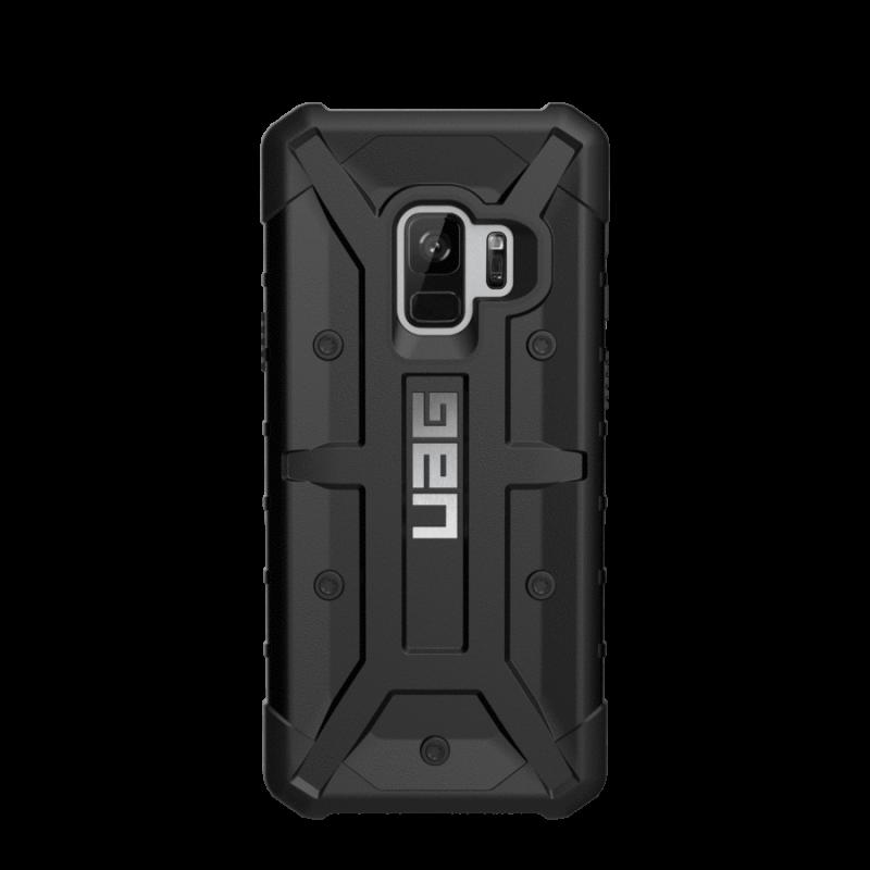 UAG Θήκη Urban Armor Gear Pathfinder Feather- Light Samsung Galaxy S9 Plus - Black (GLXS9PLS-A-BK)
