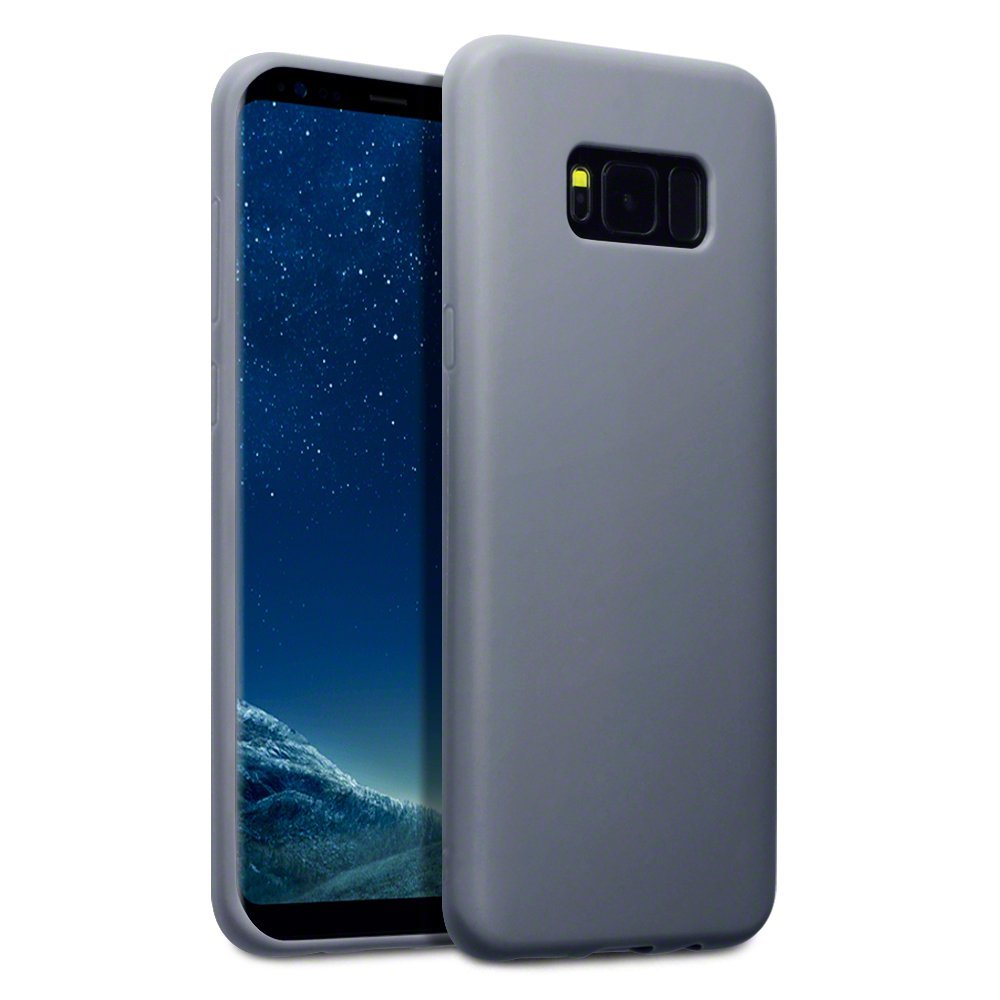 Terrapin Θήκη Σιλικόνης Samsung Galaxy S8 Plus - Grey Matte (118-002-619)