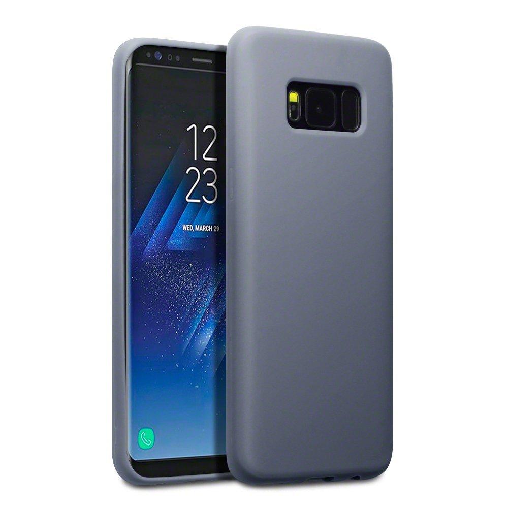 Terrapin Θήκη Σιλικόνης Samsung Galaxy S8 - Grey Matte (118-002-612)
