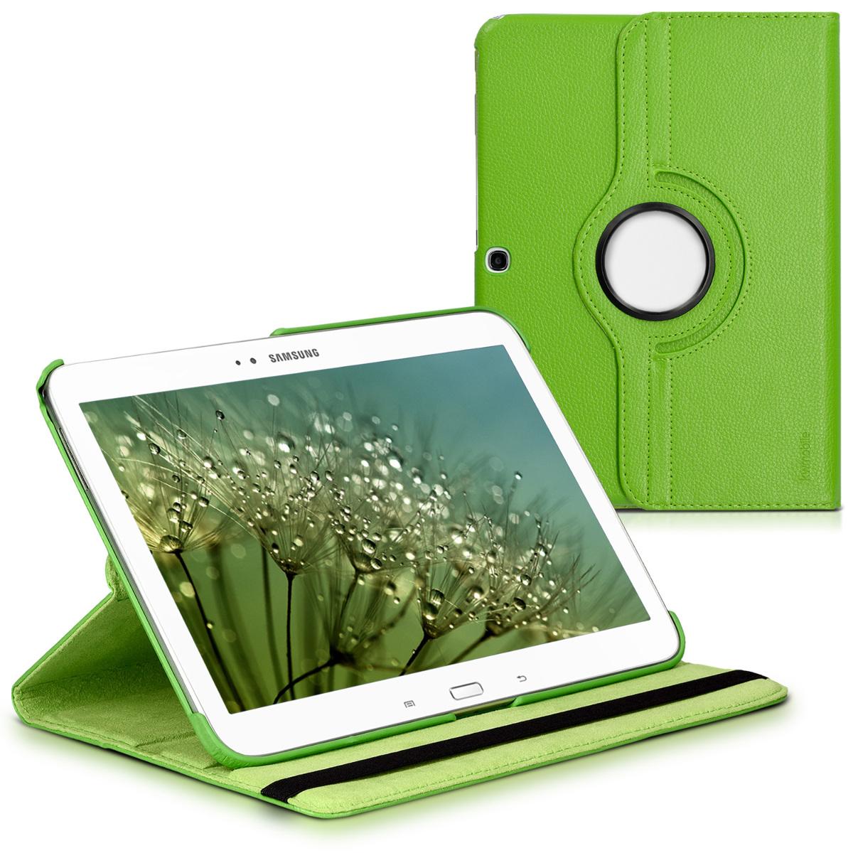 KW Θήκη 360° Samsung Galaxy Tab 3 10.1 P5200/P5210 - Συνθετικό Δέρμα - Green (14618.07)
