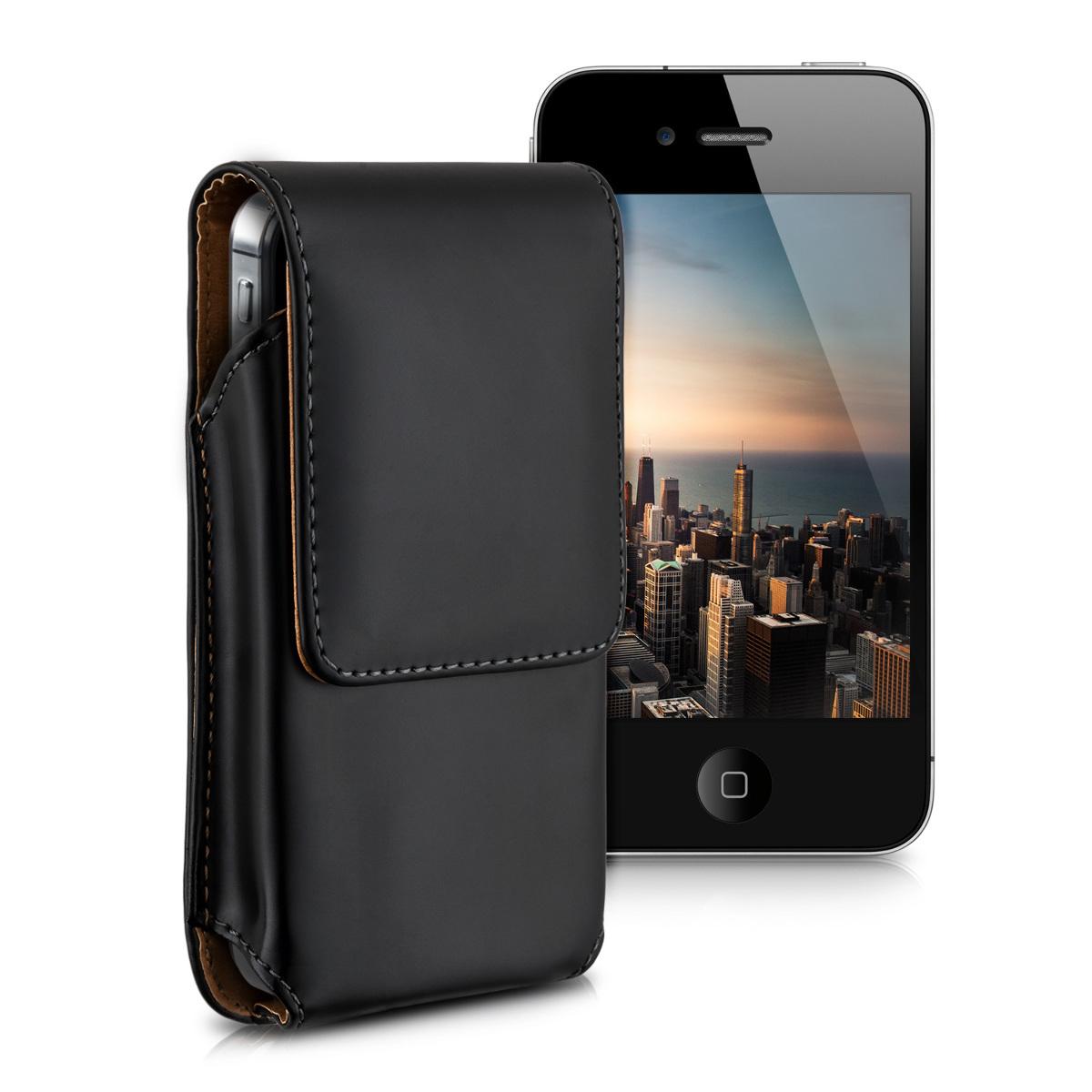 KW Universal Θήκη Ζώνης για Smartphones - Black (20314.2)
