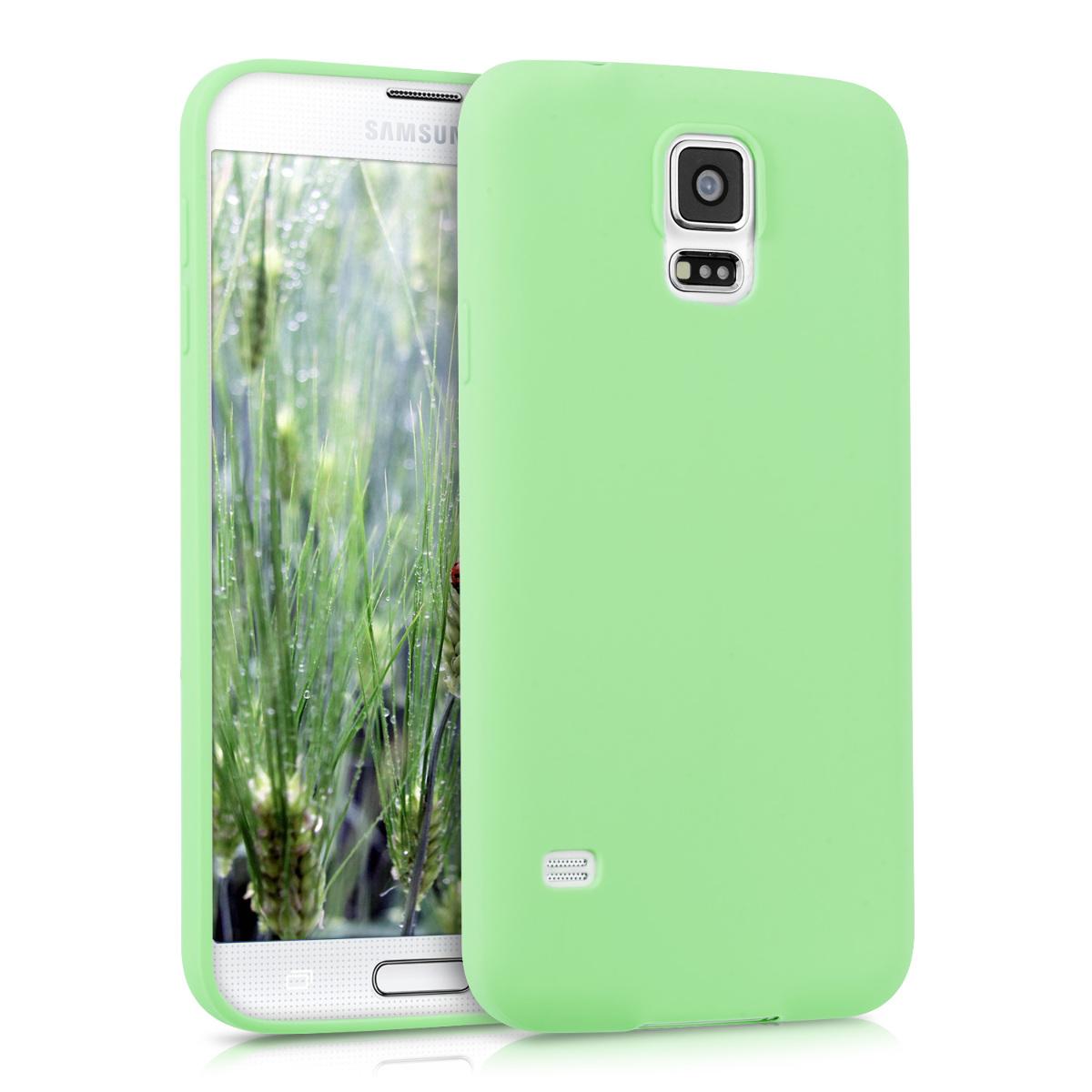 KW Θήκη TPU Σιλικόνης Samsung Galaxy S5 / S5 Neo - Mint Matte (33252.71)