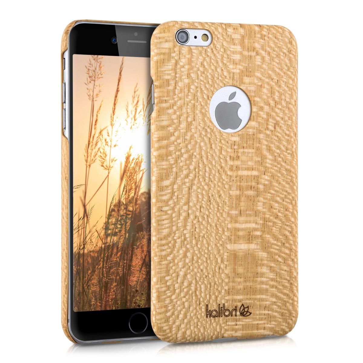 Kalibri Σκληρή Ξύλινη Θήκη - iPhone 6 Plus / 6S Plus - Ultra Slim (34415.11)
