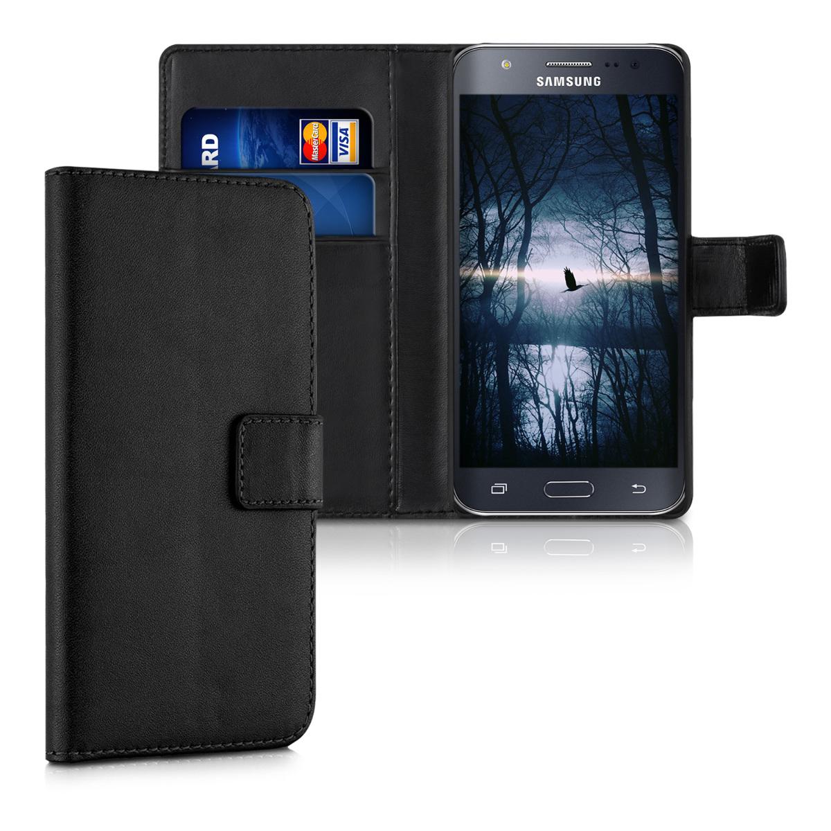 KW Θήκη - Πορτοφόλι Samsung Galaxy J5 (2015) - Black (34804.01)