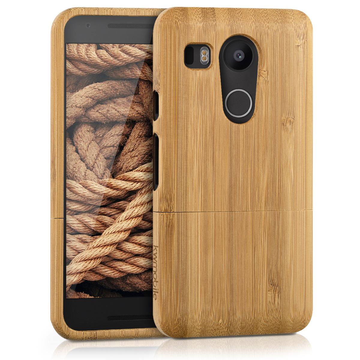 KW Ξύλινη Θήκη LG Nexus 5X - Bamboo (35299.24)