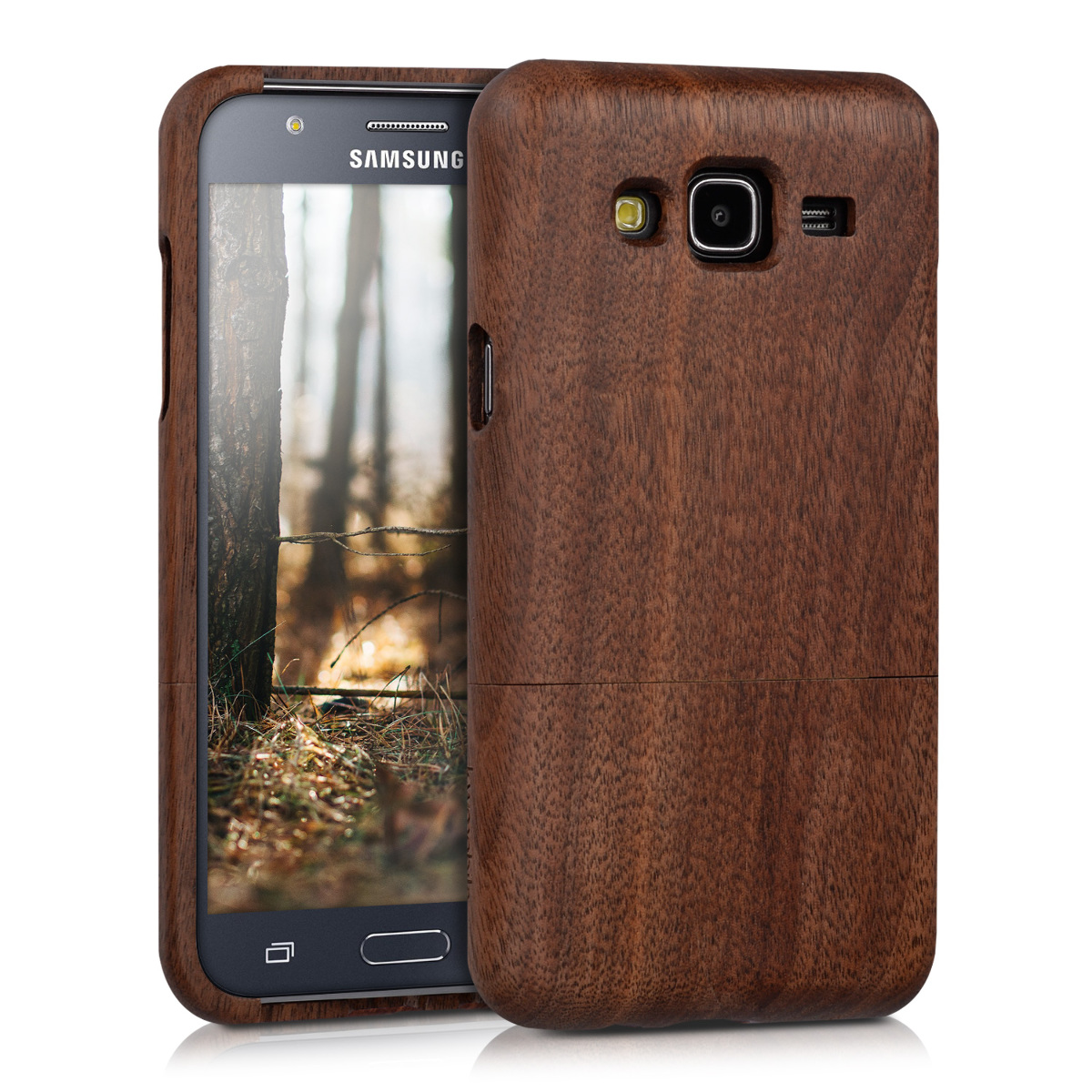 KW Ξύλινη Θήκη Samsung Galaxy J5 2015 (35758.18)