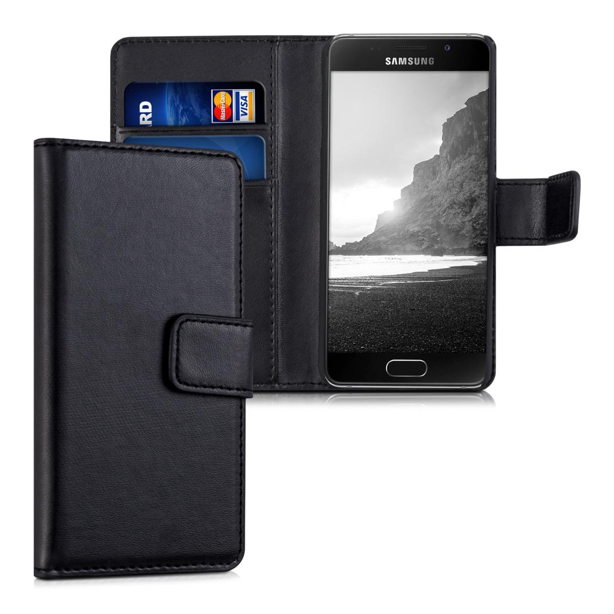 KW Θήκη - Πορτοφόλι  Samsung Galaxy A3 2016 - Black (36068.01)