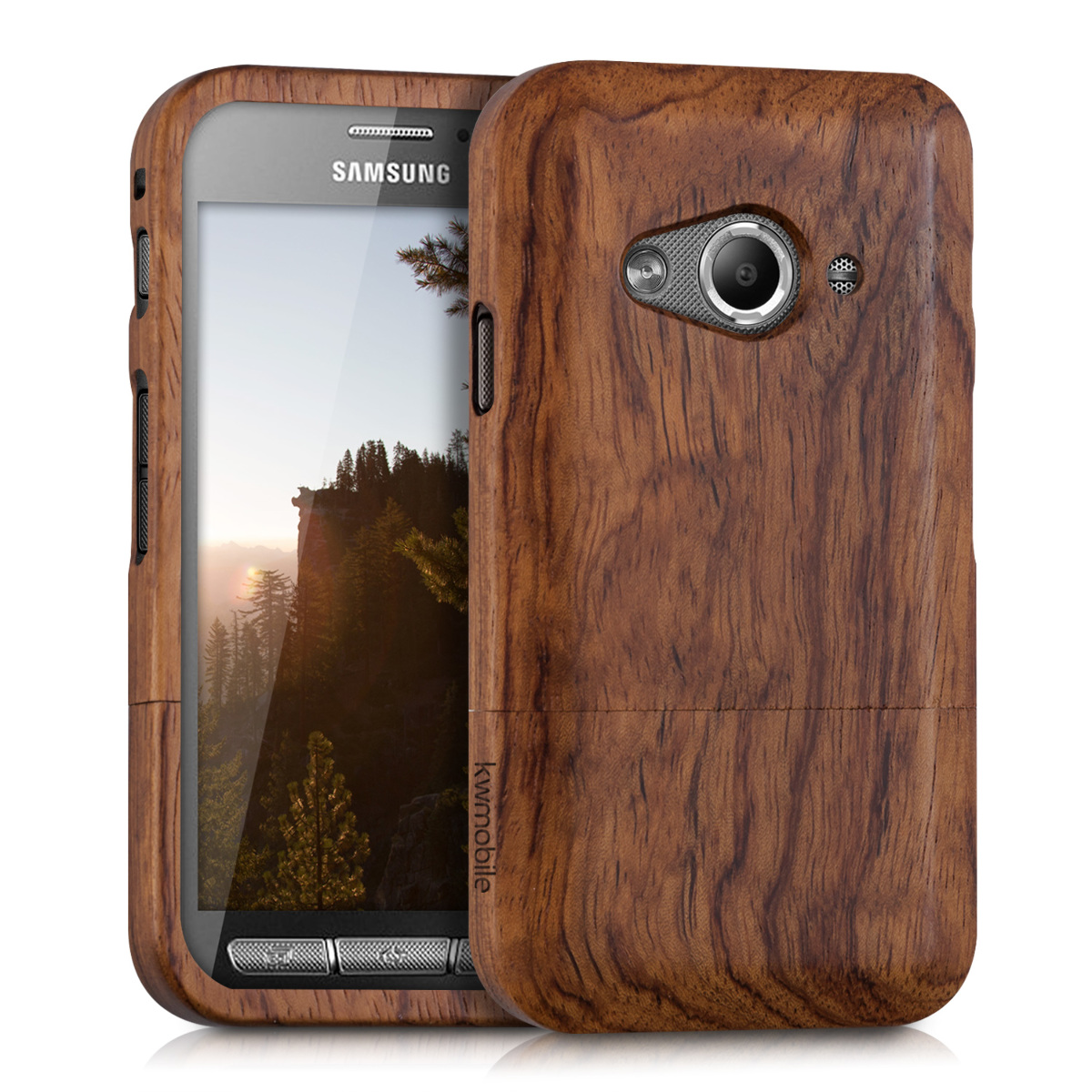 KW Σκληρή Ξύλινη Θήκη Samsung Galaxy Xcover 3 - (36095.05)