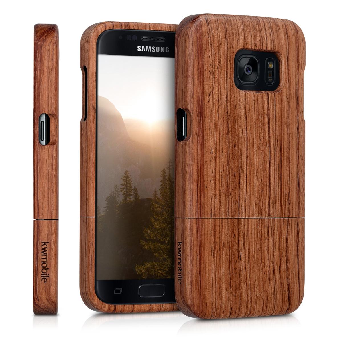 KW Σκληρή Ξύλινη Θήκη - Samsung Galaxy S7  - (37138.18)
